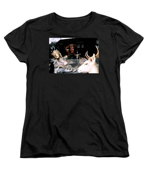 Women's T-Shirt (Standard Cut) featuring the photograph A Surreal View by Michael Hoard