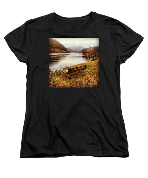 Women's T-Shirt (Standard Cut) featuring the photograph The View by Kerri Farley