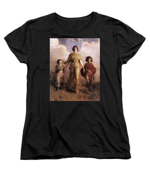 The Virgin Women's T-Shirt (Standard Cut) by Abbott Handerson Thayer