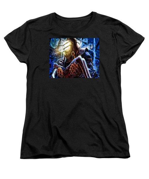 The Watchful Protector Women's T-Shirt (Standard Cut) by Joe Misrasi