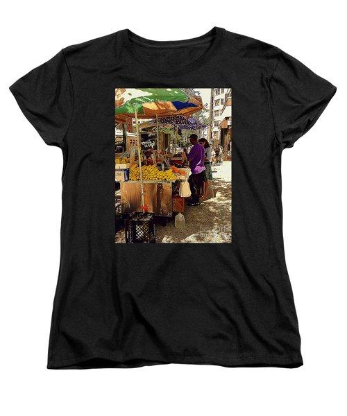 The Water Jug Women's T-Shirt (Standard Cut) by Miriam Danar