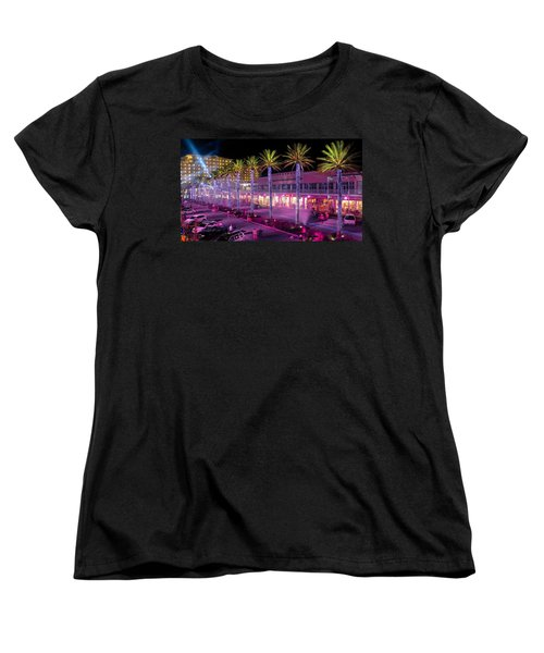 The Wharf @ Orange Beach Alabama Women's T-Shirt (Standard Cut) by Rob Sellers