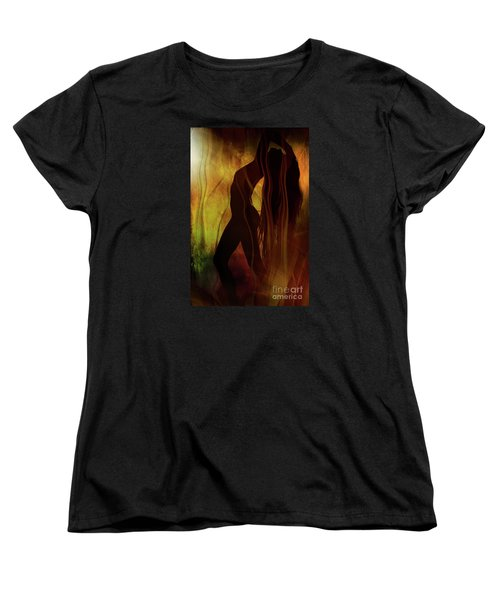The Witches Dance... Women's T-Shirt (Standard Cut) by Nina Stavlund