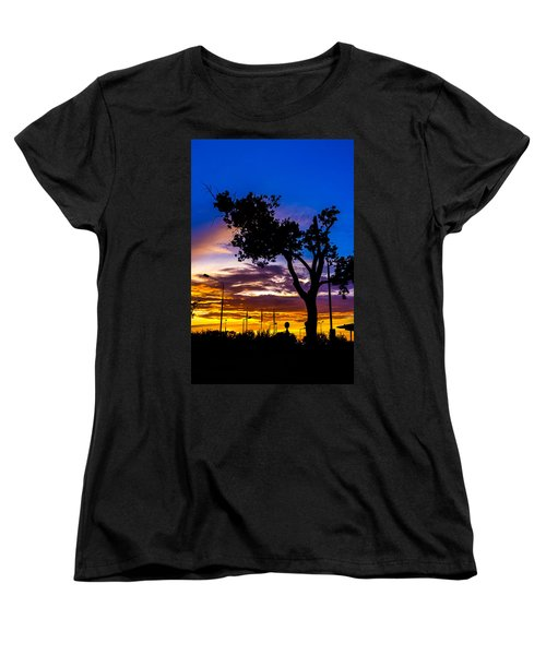 There Is Something Magical About The Sky Women's T-Shirt (Standard Cut) by Tgchan