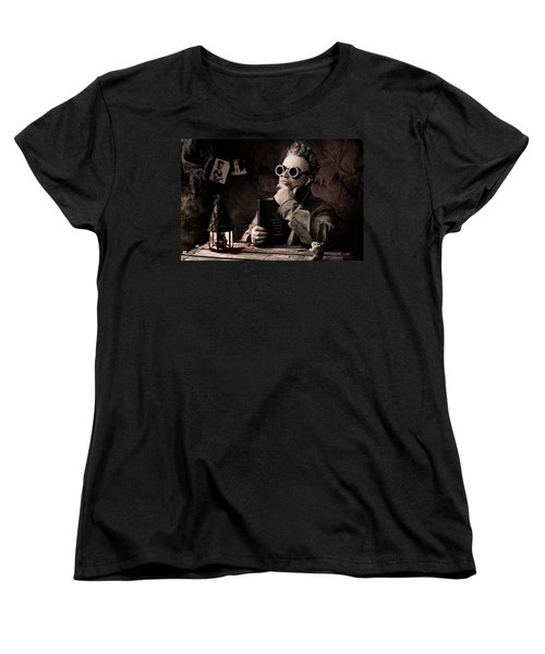 Things To Consider - Steampunk - World Domination Women's T-Shirt (Standard Cut) by Gary Heller