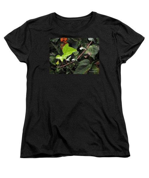 Women's T-Shirt (Standard Cut) featuring the photograph Thirsty by Ellen Cotton