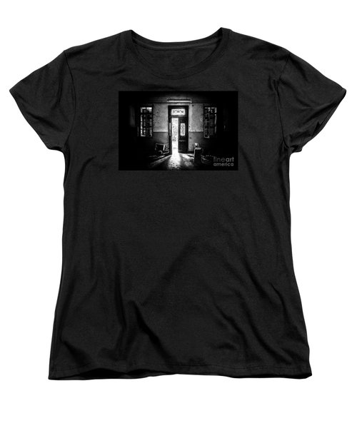 This Is The Way Step Inside Women's T-Shirt (Standard Cut) by Traven Milovich