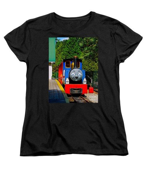 Thomas Women's T-Shirt (Standard Cut) by Sher Nasser