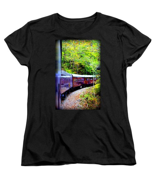 Through The Mountains Women's T-Shirt (Standard Cut)