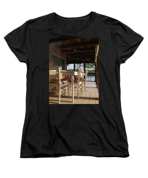 Through The Screen No 1 Women's T-Shirt (Standard Cut) by Lon Casler Bixby