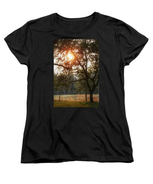 Women's T-Shirt (Standard Cut) featuring the photograph Through The Trees by Melanie Lankford Photography