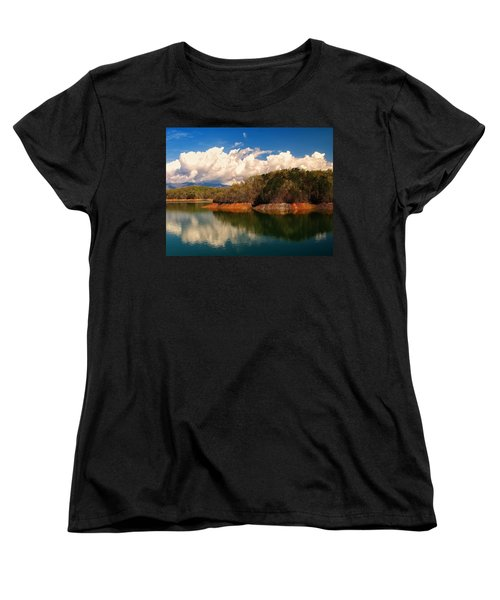 Thunderstorm Rolling Over The Smokies Women's T-Shirt (Standard Cut)