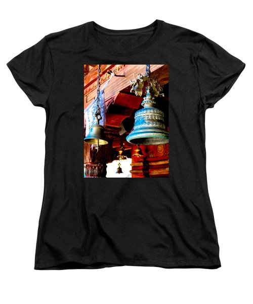 Tibetan Bells Women's T-Shirt (Standard Cut)