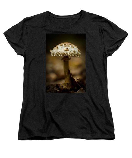 Tiffany Shroom Women's T-Shirt (Standard Cut) by Shane Holsclaw