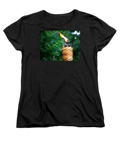 Women's T-Shirt (Standard Cut) featuring the photograph Tiki Time by Greg Simmons