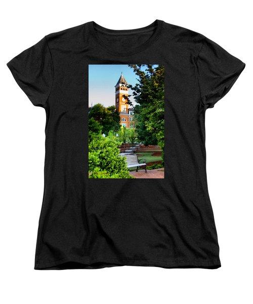 Tillman Hall Early Morning Women's T-Shirt (Standard Cut) by Lynne Jenkins