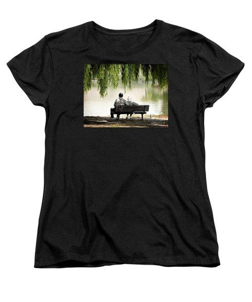 Time Flies By Women's T-Shirt (Standard Cut) by Ellen Cotton