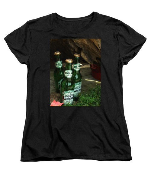 Time In Bottles Women's T-Shirt (Standard Cut) by Rachel Mirror