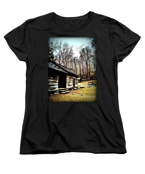 Women's T-Shirt (Standard Cut) featuring the photograph Time Standing Still by Faith Williams