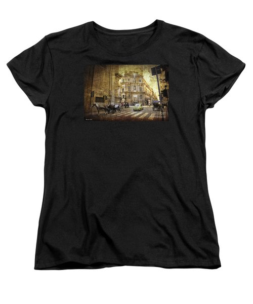 Time Traveling In Palermo - Sicily Women's T-Shirt (Standard Cut) by Madeline Ellis
