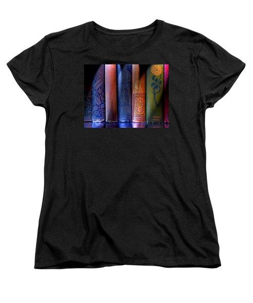 Time Worn Women's T-Shirt (Standard Cut) by Michael Eingle