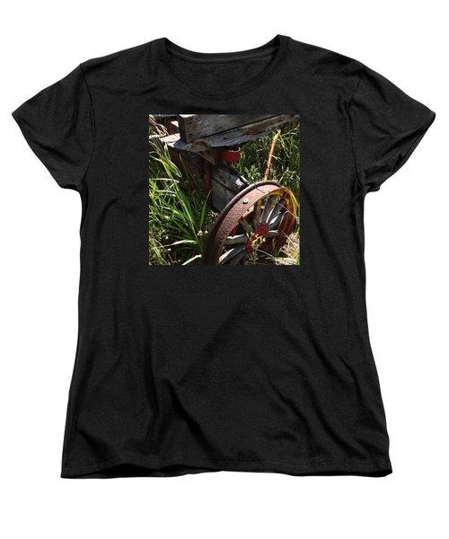 Women's T-Shirt (Standard Cut) featuring the photograph Tireless by Meghan at FireBonnet Art