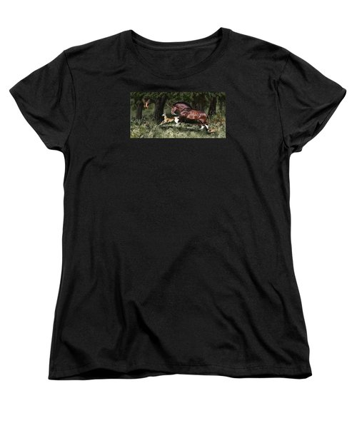 Together Women's T-Shirt (Standard Cut) by Kate Black