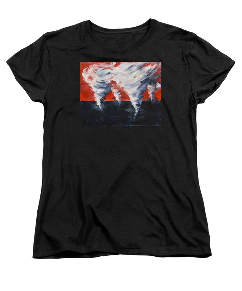 Apocalyptic Dream Women's T-Shirt (Standard Cut) by Yulia Kazansky
