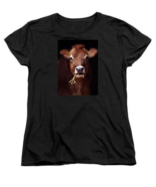 Toupee Women's T-Shirt (Standard Cut) by Skip Willits