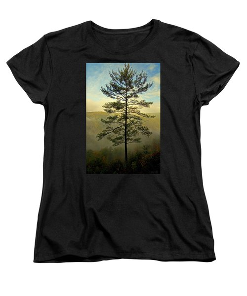 Towering Pine Women's T-Shirt (Standard Cut) by Suzanne Stout