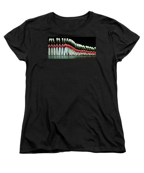Women's T-Shirt (Standard Cut) featuring the photograph Toy Soldiers by Mike Martin