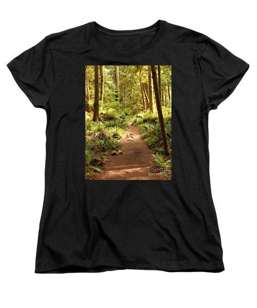 Trail Through The Rainforest Women's T-Shirt (Standard Cut)