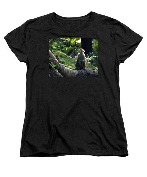 Waiting Women's T-Shirt (Standard Cut) by Debi Demetrion