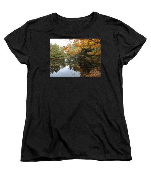 Tranquil Getaway Women's T-Shirt (Standard Cut) by Brenda Brown