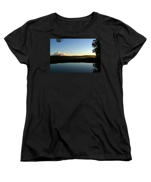 Tranquility Women's T-Shirt (Standard Cut) by Evelyn Tambour