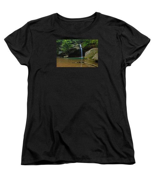 Women's T-Shirt (Standard Cut) featuring the photograph Tranquility by Julie Andel