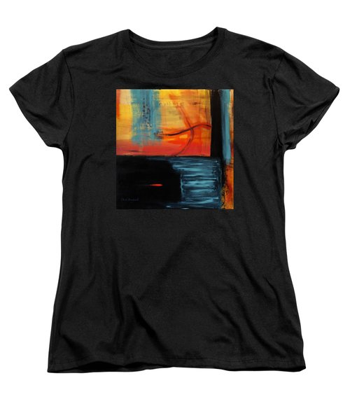 Transitions Women's T-Shirt (Standard Cut) by Dick Bourgault