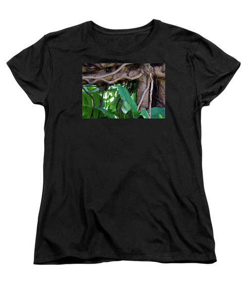 Women's T-Shirt (Standard Cut) featuring the photograph Tree Branch by Rafael Salazar