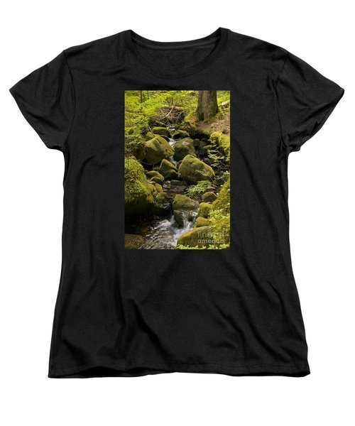 Tributary Women's T-Shirt (Standard Cut) by Sean Griffin