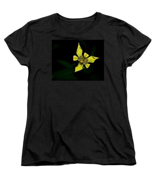 Tropic Yellow Women's T-Shirt (Standard Cut) by Miguel Winterpacht