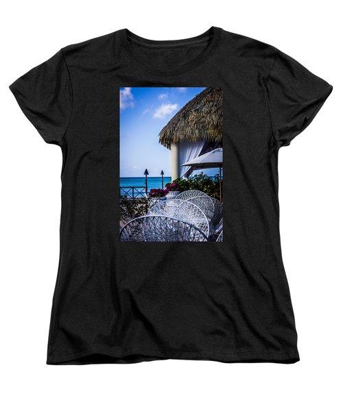 Tropical Paradise Women's T-Shirt (Standard Cut)