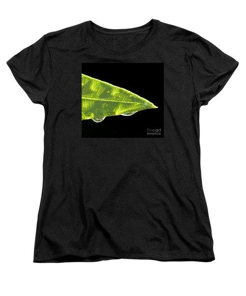 Tropical Reflections Women's T-Shirt (Standard Cut) by Anne Rodkin