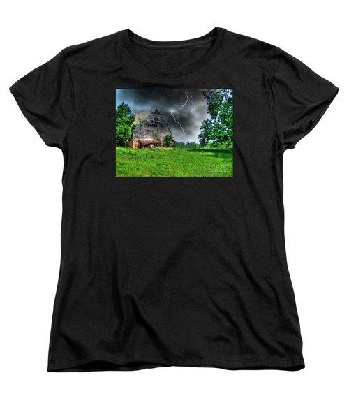 Trouble Brewing Women's T-Shirt (Standard Cut) by Dan Stone