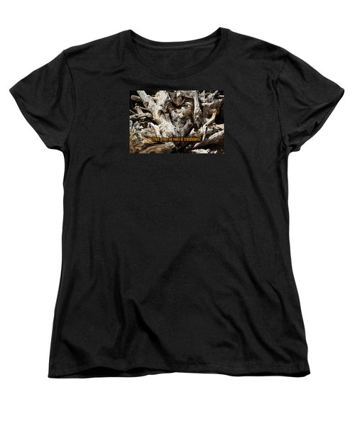 Women's T-Shirt (Standard Cut) featuring the photograph Truthfulness by Phyllis Denton