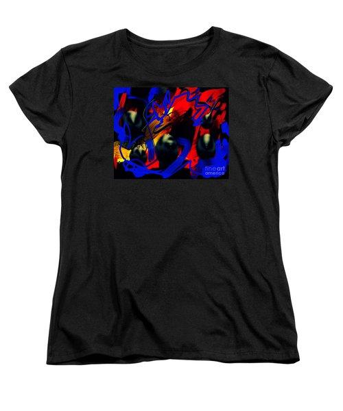 Turmoil Women's T-Shirt (Standard Cut) by Paulo Guimaraes