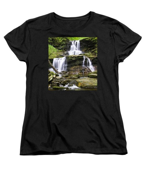 Tuscarora Falls Women's T-Shirt (Standard Cut)