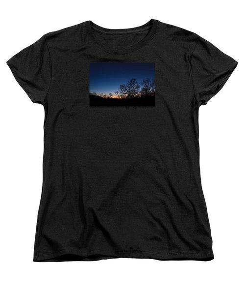 Women's T-Shirt (Standard Cut) featuring the photograph Twilight Dream by Julie Andel