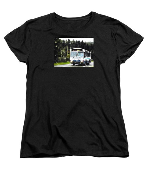 Twilight In Forks Wa 1 Women's T-Shirt (Standard Cut) by Sadie Reneau