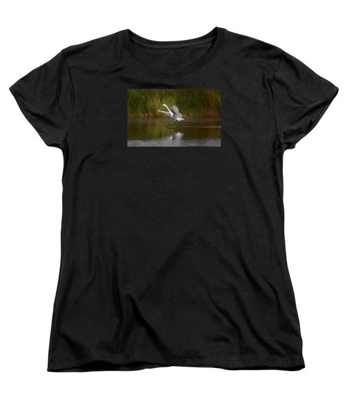 Women's T-Shirt (Standard Cut) featuring the photograph Twinkle Toes by Leticia Latocki