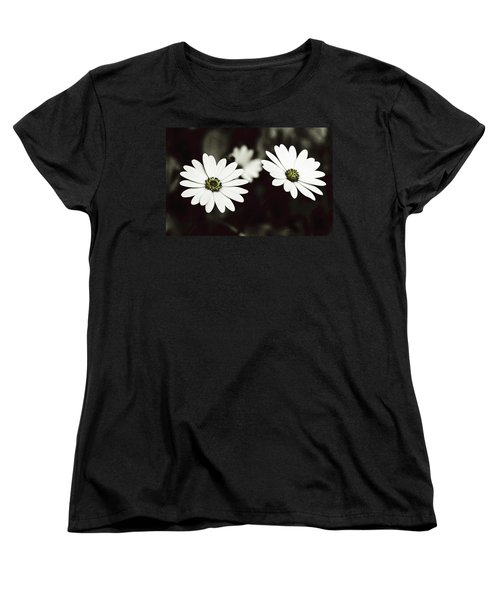 Women's T-Shirt (Standard Cut) featuring the photograph Twins  by Lana Enderle